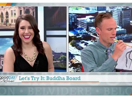 ABC Stateline Tests Out Buddha Board!