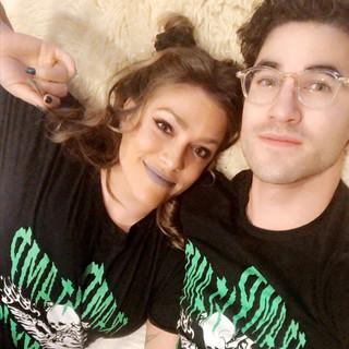 Mia & Darren Criss