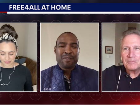 Fox Dallas Interviews Darren Woodson on Behalf of In Good Taste