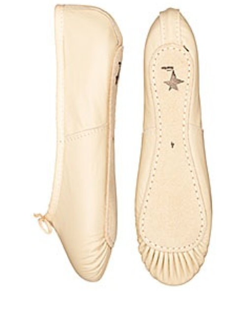 Leather Ballet Shoes (Pink)