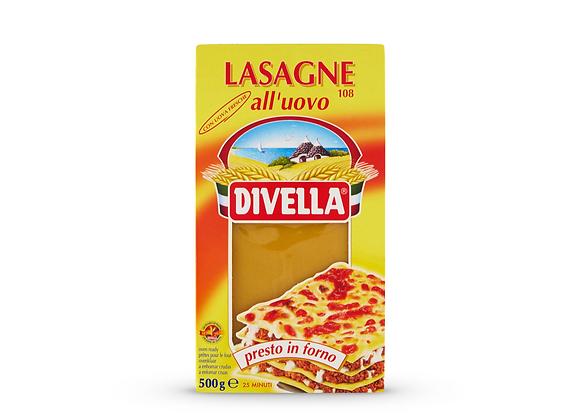 Divella Egg Lasagna Sheets 500g