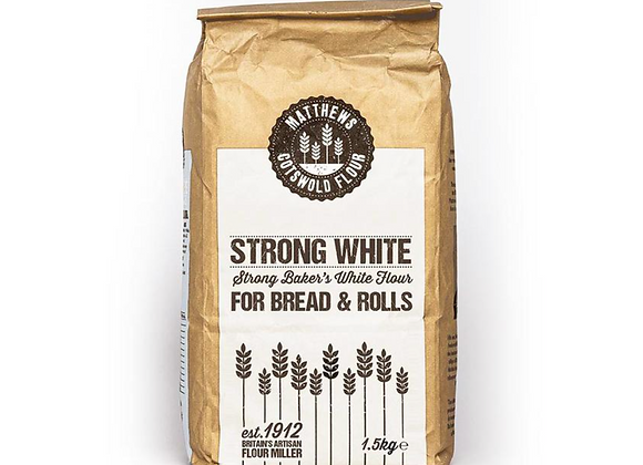 Strong Bakers's White Flour 1.5kg