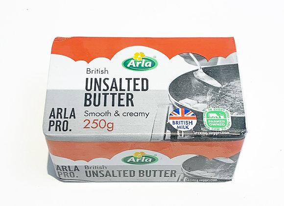 British Unsalted Butter 250g