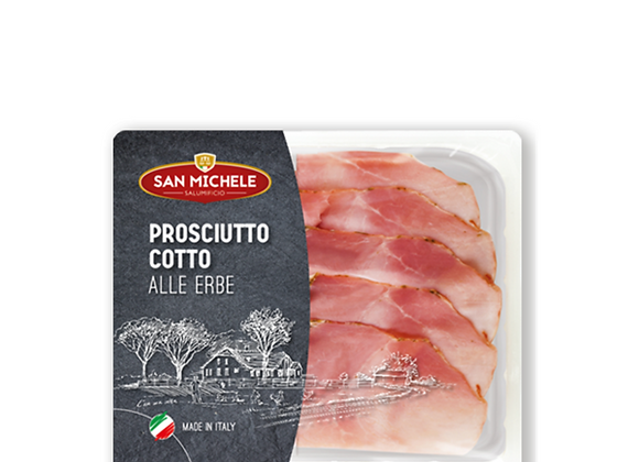 Prosciutto Cotto With Herbs (Ham) 120g