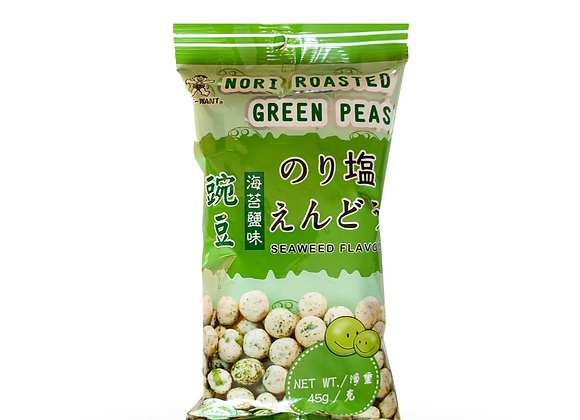 Nori Roasted Green Peas Seaweed Flavour 45g