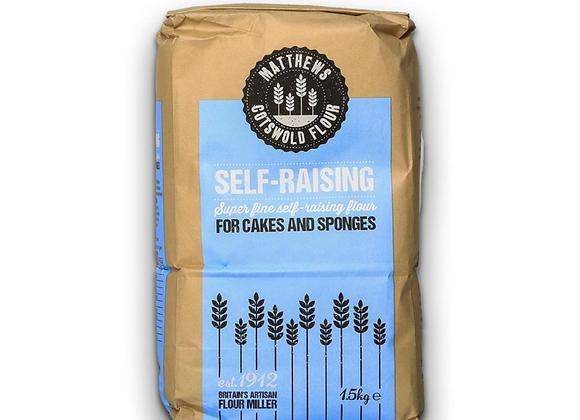 Fine Self-Raising Flour 1.5kg