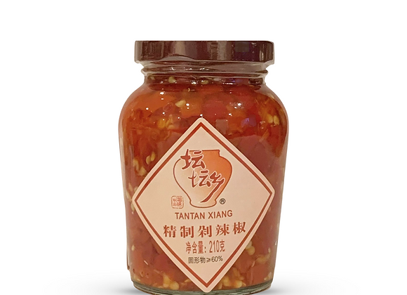 Tantan Xiang - Chopped Salted Red Chilli 210g