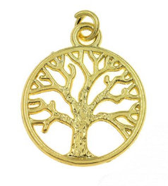153009 - Δέντρο Ζωής Μεταλλικό 1.5cm x 1.5cm