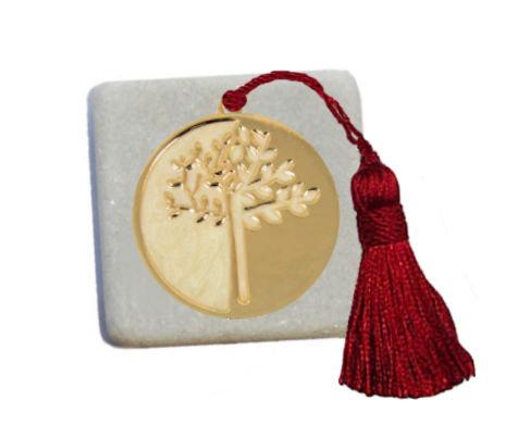 400.3103 - Διακοσμητική Πέτρα 5cm x 5cm, Δέντρο Ζωής Με Φούντα
