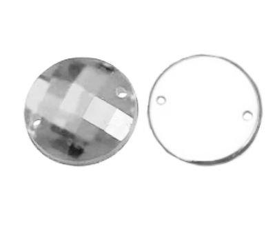 CB.102 - Ακρυλικό Καμπουσόν Στρογγυλό 12mm