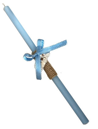 10.2549 - Λαμπαδάκι Στρογγυλό Με Τρενάκι 33cm