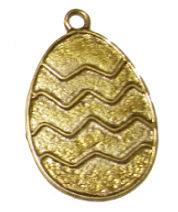 152319 - Αυγό Μεταλλικό 5.5cm x 4cm
