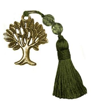 019.3013 - Γούρι 7cm Με Δέντρο Ζωής Και Φούντα 4.5cm