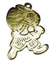153017 - Λαγουδάκι Μεταλλικό 3.5cm x 3cm