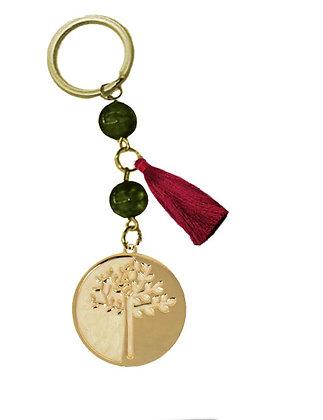 302.3103 - Γούρι Μπρελόκ 10cm Με Δέντρο Ζωής