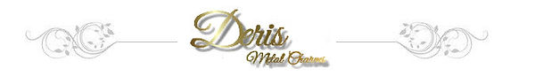Deris Metal Charms