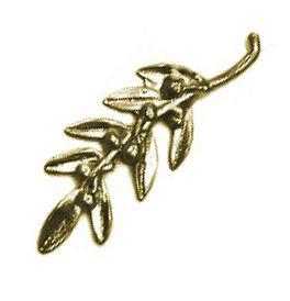 152447 - Κλαδάκι Ελιάς Μεταλλικό 6cm