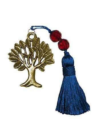 Γούρι 7cm Με Δέντρο Ζωής Και Φούντα 4.5cm - 019.3013