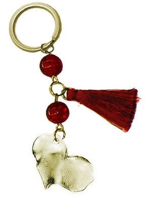 302.0596 - Portes Cles 12cm Με Καρδιά