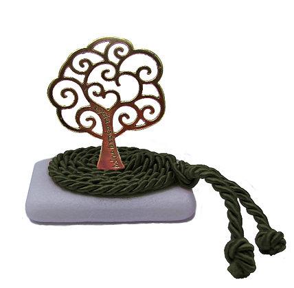 412.3161Ε - Διακοσμητική Πέτρα 7cm x 5cm, Δέντρο Σε Κορδόνι