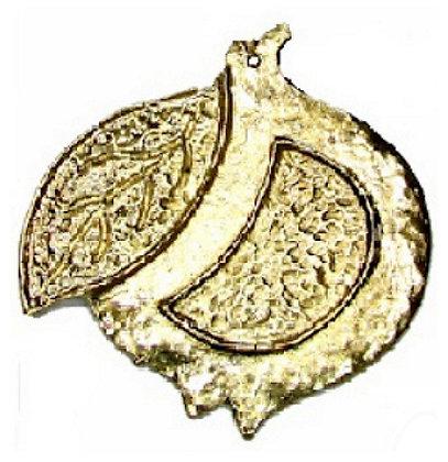 153032 - Ρόδι Μεταλλικό 8cm x 8cm