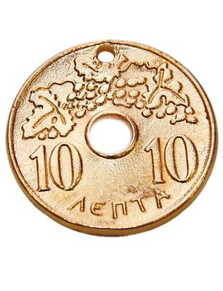 151690 - Δεκάρα Μεταλλική 5,5cm x 5,5cm