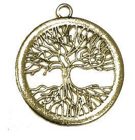153177 - Δέντρο Ζωής Μεταλλικό 4cm