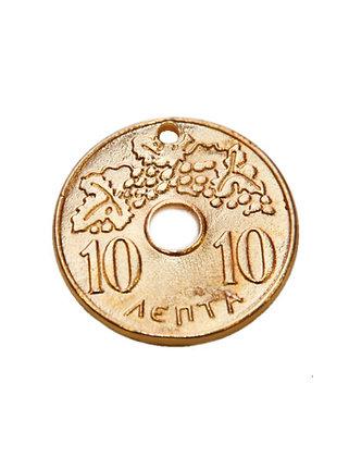 152502 - Δεκάρα Μεταλλική 3,5cm x 3,5cm
