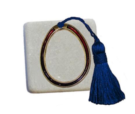 400.3057 - Διακοσμητική Πέτρα 5cm x 5cm, Αυγό Με Φούντα