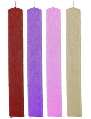 02.101 - Πλακέ Σαγρέ Κερί 3cm x 33cm