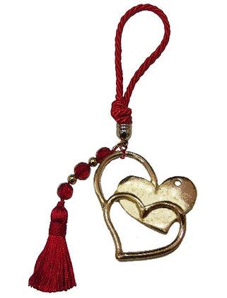 015.0597 - Portes Cles 20cm Με Καρδιά