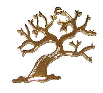 153166 - Δέντρο Ζωής Μεταλλικό 6cm x 5.5cm