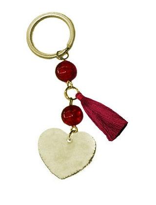 302.0500 - Portes Cles 12cm Με Καρδιά
