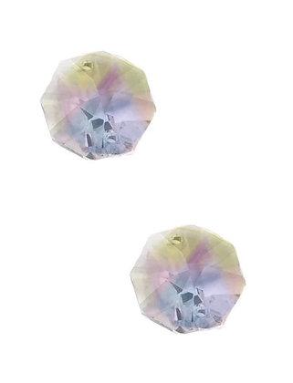 83.00.ΑΒ - Κρύσταλλο Χάντρα Οκτάγωνο ΑΒ 2 Τρύπες 14mm