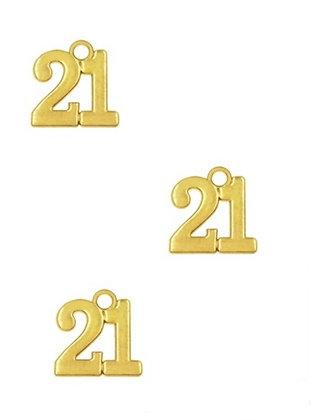 153202 - Χρονολογία Μεταλλικό 1.5cm x 1cm