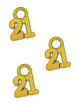 153200 - Χρονολογία Μεταλλικό 2.5cmx 2.5cm