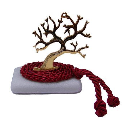 412.3166Ε - Διακοσμητική Πέτρα 7cm x 5cm, Δέντρο Σε Κορδόνι
