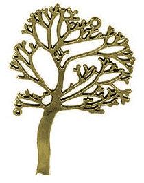153102 - Δέντρο Ζωής Μεταλλικό 6.5cm x 4cm