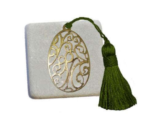 400.3023 - Διακοσμητική Πέτρα 5cm x 5cm, Αυγό Με Φούντα