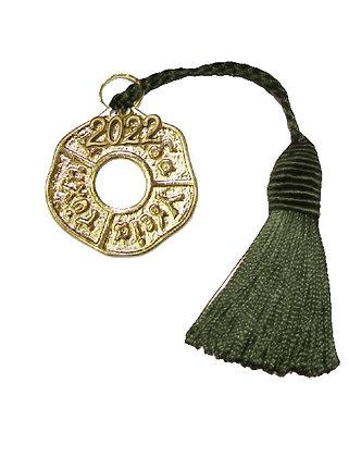Γούρι 10cm Με Ευχές Και Φούντα 5cm - 017.3010