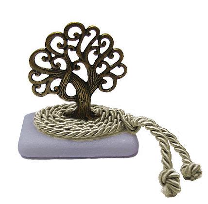 412.3018Ε - Διακοσμητική Πέτρα 7cm x 5cm, Δέντρο Σε Κορδόνι