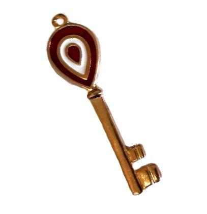 Κλειδί Σμάλτο Μεταλλικό 7.5cm - 140171