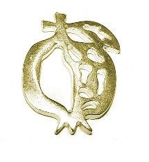 153138 - Ρόδι Μεταλλικό 2.5cm x 2cm