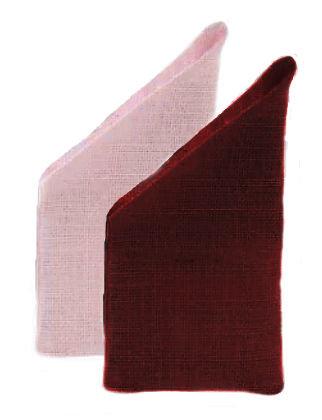 350.980 - Πουγκάκι Λινάτσα Με Μύτη 13cm x 27cm