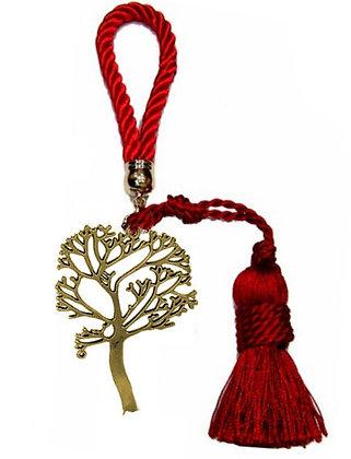 022.3102 - Γούρι Portes Cles 20cm Με Δέντρο