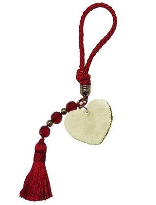 015.0500 - Portes Cles 20cm Με Καρδιά