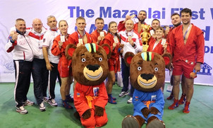 Победители первого командного Кубка мира по самбо