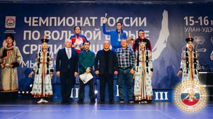 Чемпионат России по женской борьбе - 2019