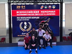 Всероссийский турнир по вольной борьбе в Сыктывкаре