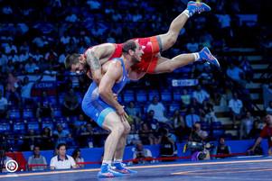 Анзор Хизриев - чемпион II Европейских игр по вольной борьбе!
